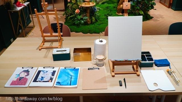 莎夏畫室繪畫課程