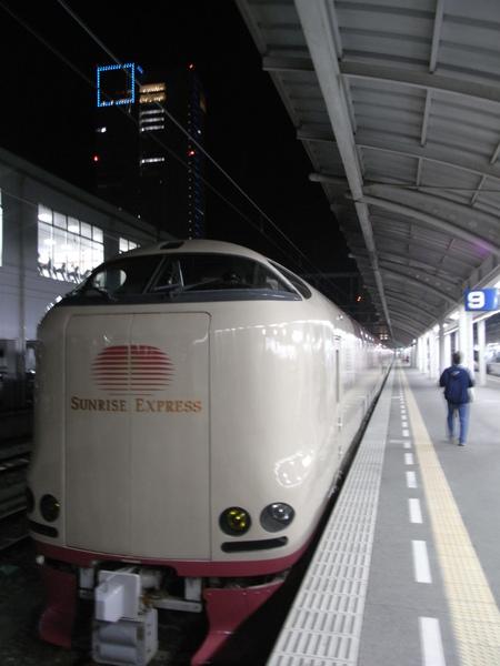 日本寢台列車