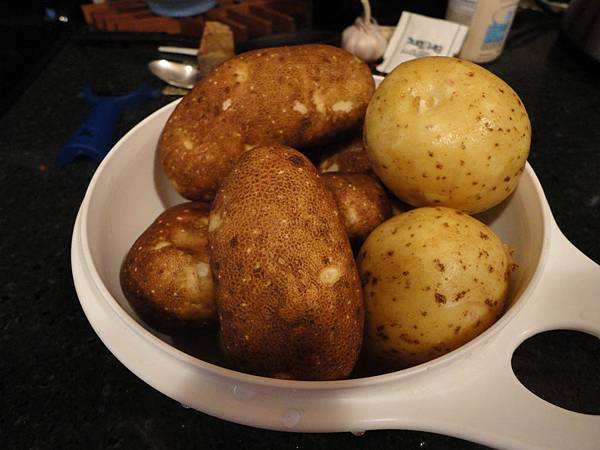 Our garden potatoes!