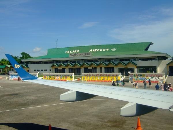 Kalibo機場~