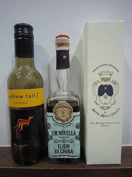 2012.2.11 金雞納皮酒 & Yellow Tail