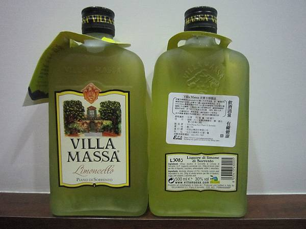 Villa Massa 索蘭多檸檬酒