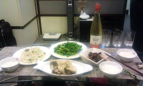 2013.2.8 Dinner at M