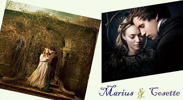 悲慘世界 - Marius  &  Cosette