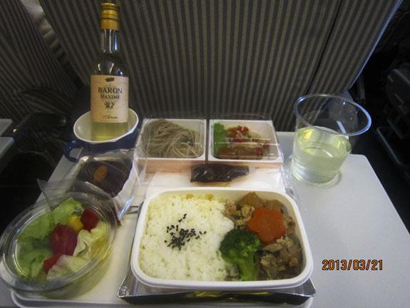 2013.3.21 JAL 飛機餐