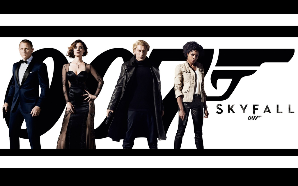 2013.05.04 空降危機 007:Skyfall DVD with colleague
