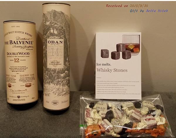 Anita Hsieh 寄來的出國紀念禮物