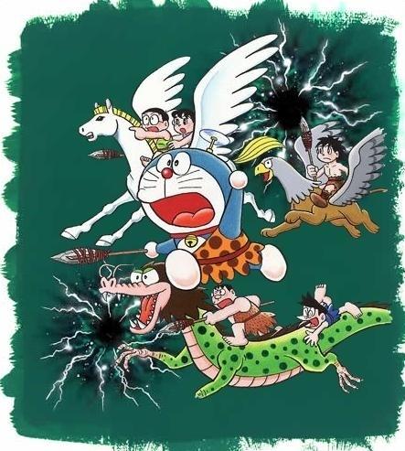 小叮噹。1989《大雄的日本誕生》