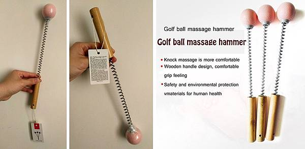 Golf Ball Massage Hammer