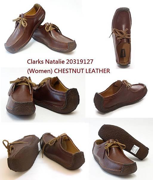Clarks Natalie 20319127 (Women) CHESTNUT SMOOTH