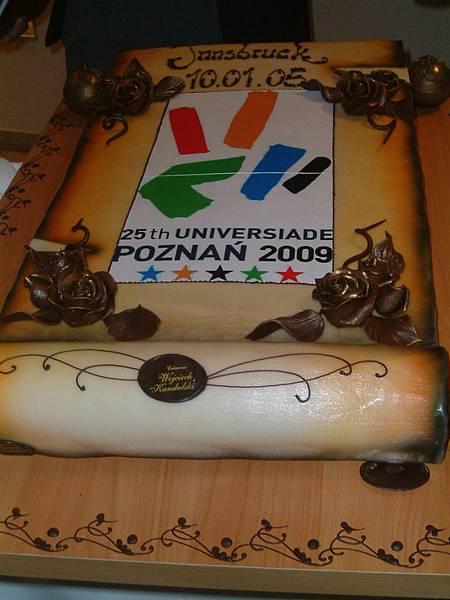 來自波蘭的大蛋糕