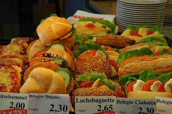 奧地利的三明治