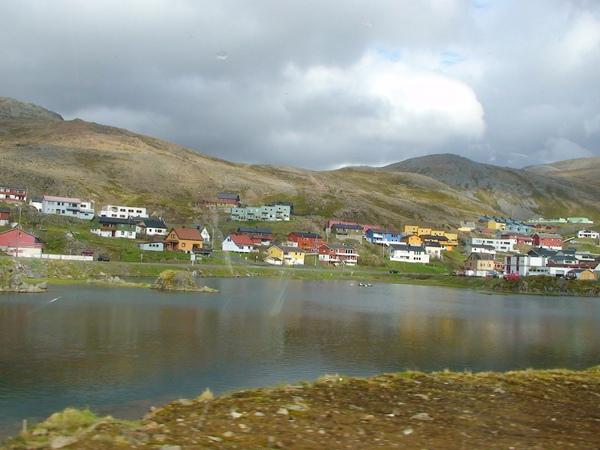 沿途可愛的小漁村