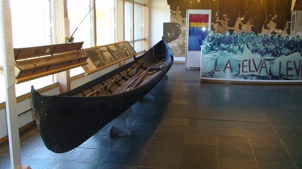 拉普蘭人祖先所使用的船