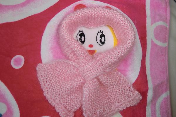 淑女型的圍巾