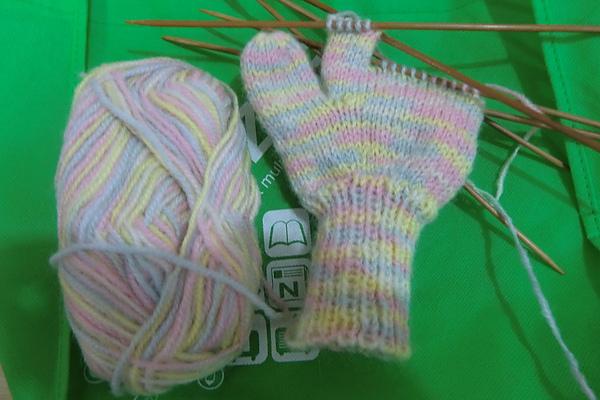 編織手套進行式
