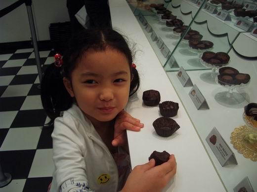 愛吃巧克力的姊姊