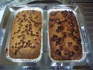 好吃巧克力和核桃蛋糕
