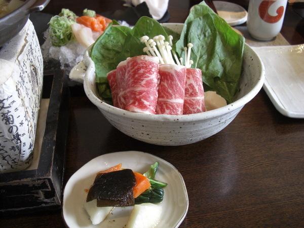 壽喜燒午餐