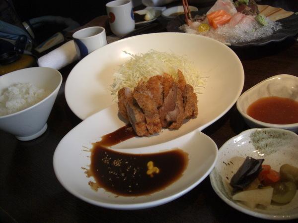 日式炸豬排午餐