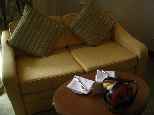 公婆房間的2人沙發