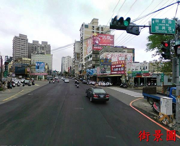 林森路與中華路口