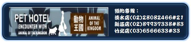 動物王國旅館名片