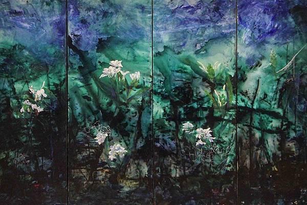 台北藝術展覽-花語1