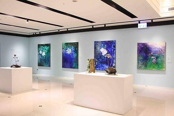 台北藝術展覽-展間