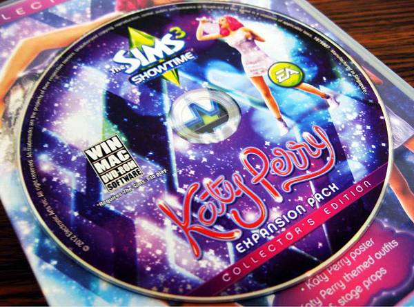 Katy Perry showtime disc