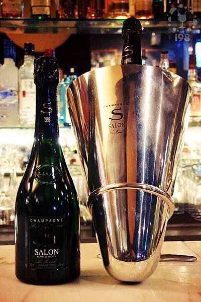 推薦酒:SALON 1996-頂尖年份幾近完美的香檳