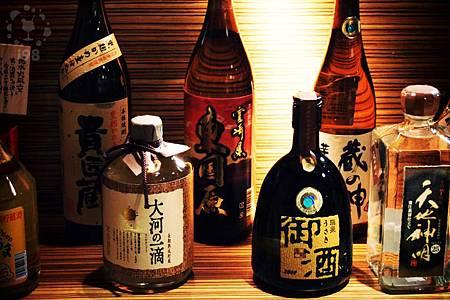 各式日本地酒收藏