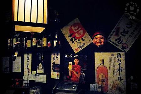 充滿日式風情的櫥櫃