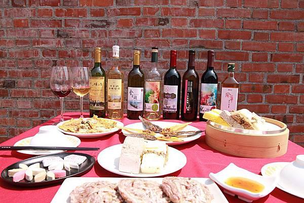 紅磚巷裡的餐酒會-彰化葡萄酒x鹿港小吃 2