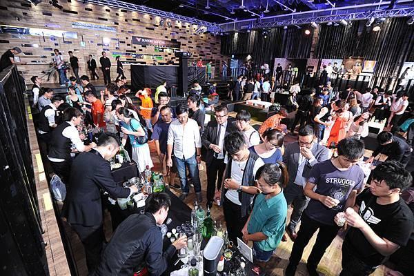 第三屆台灣三得利調酒總決賽會場現況
