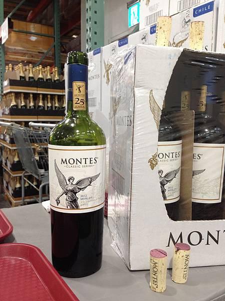 【好市多】蒙帝斯 梅洛紅酒【折價】