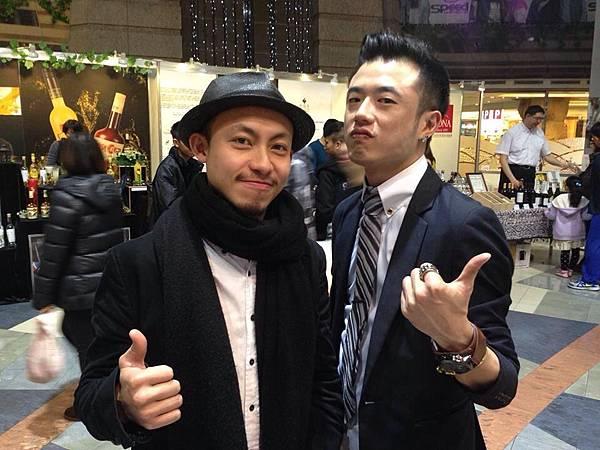評審余振中(左起),楊青雲