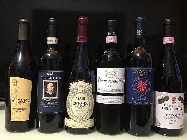 【金先生】頂級義大利葡萄酒品酒會