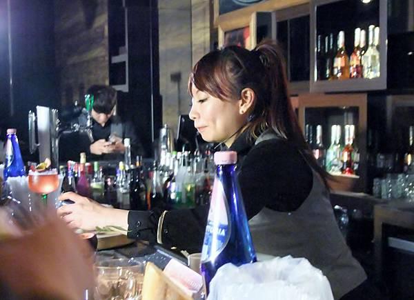唯一入圍決賽的女選手楊淳如,在今年女性調酒師大賽中亦獲得不錯的成績