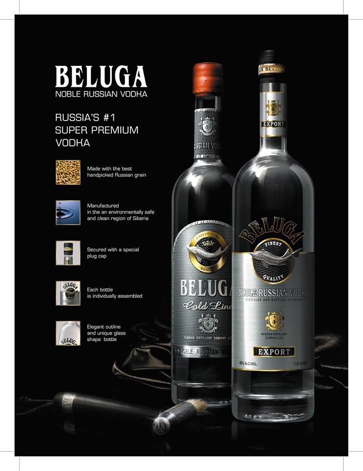 Beluga 比路格 俄羅斯頂級伏特加