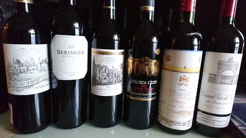 頂級波爾多及美國卡本內品酒會