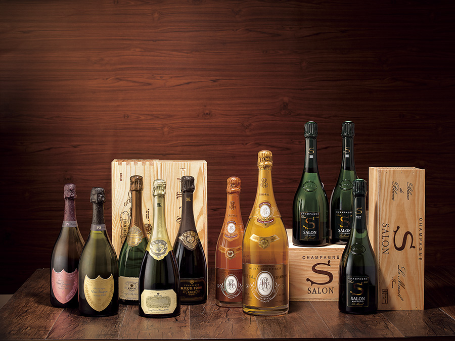Lot 328-374 氣泡的誘惑:香檳專區
