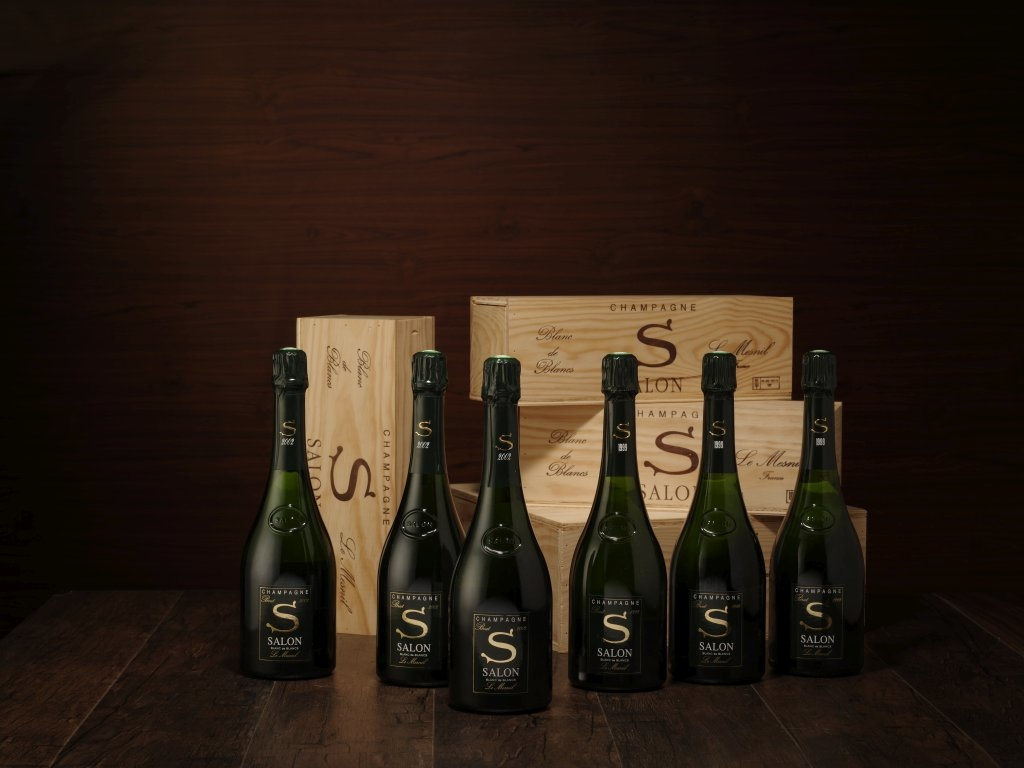 Lot 350 Salon Blanc de Blancs le Mesnil 1999 3 bts (OWC)