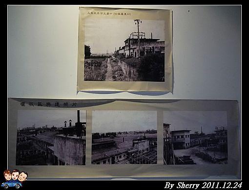 黑白的老照片,述說著老廠房的歷史樣貌。