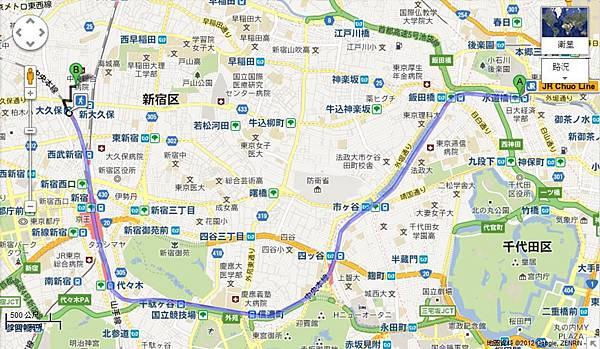 水道橋-大久保
