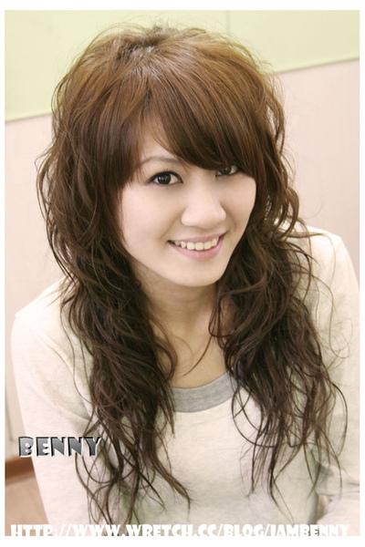 尚洋benny2009-2010流行髮型髮色 空氣燙、溫塑燙、浪漫捲3