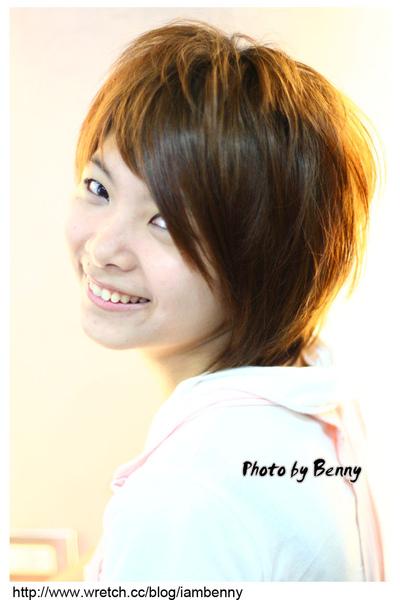 尚洋benny2009-2010流行髮型髮色 短中髮1