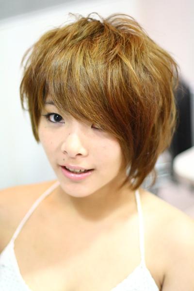 尚洋benny2009-2010流行髮型髮色 短中髮2