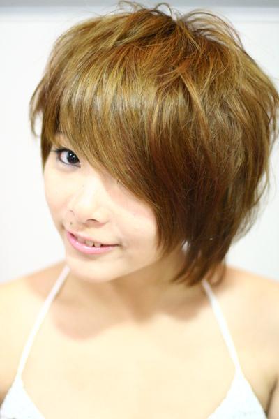 尚洋benny2009-2010流行髮型髮色 短中髮4