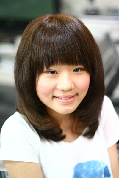 尚洋benny2009-2010流行髮型髮色 短中髮5